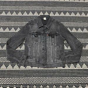 Levi's Women's Gray Jean Jacket
